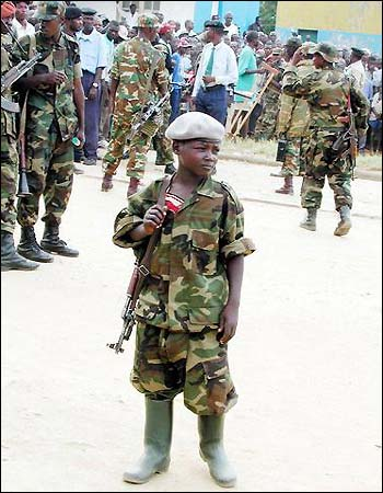 Rwandan Children and young people forcibly fighting with M23 are victims not enemy combatants