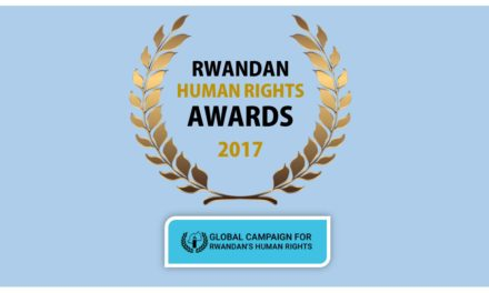 RWANDAN HUMAN RIGHTS AWARDS 2017