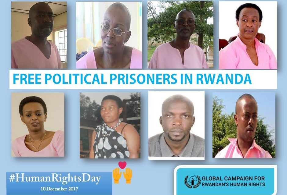 2017 Human Rights Day – Rwanda should release all political prisoners